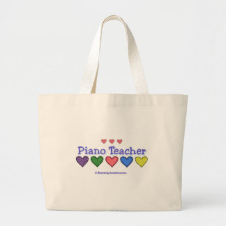 Piano Teacher GH Large Tote Bag