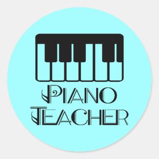 Piano Teacher Keyboard Music Gift Stickers