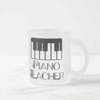 Piano Teacher Keyboard Music Mug