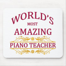 Piano Teacher Mouse Pad