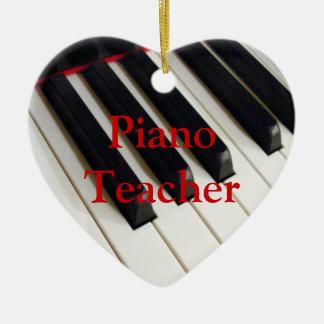 Piano Teacher Ornament