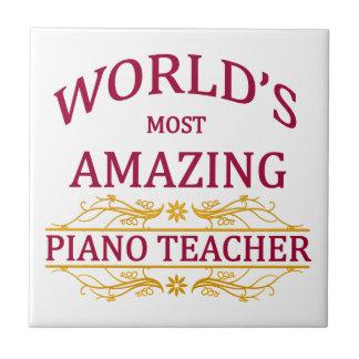 Piano Teacher Tile