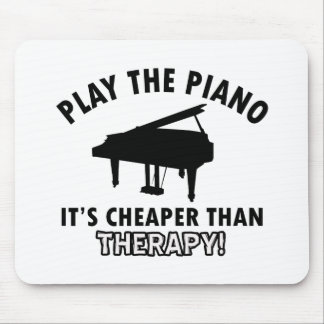 piano therapy design mouse pad