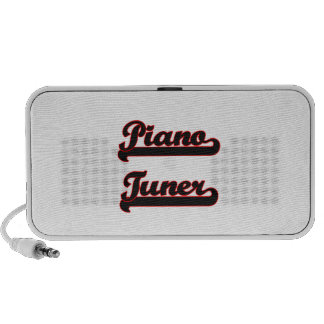 Piano Tuner Classic Job Design Mini Speakers