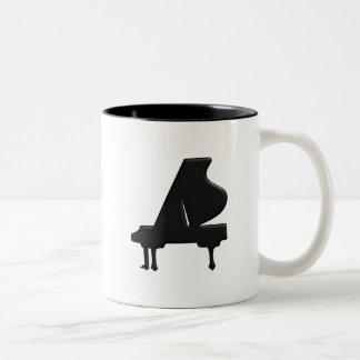 Piano Two-Tone Coffee Mug