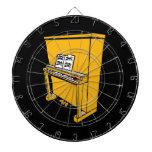 piano vertical anaranjado magnífico con music.png tablero de dardos