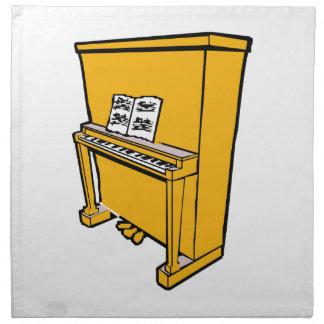 piano vertical anaranjado magnífico con music.png servilleta