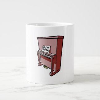 piano vertical magnífico con music.png taza grande