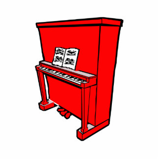 piano vertical rojo magnífico con music.png escultura fotografica