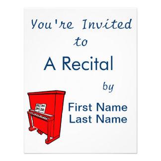 piano vertical rojo magnífico con music.png invitacion personal