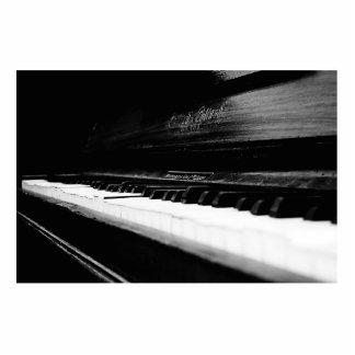 Piano viejo esculturas fotográficas