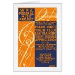Piano Violin Classes 1939 WPA