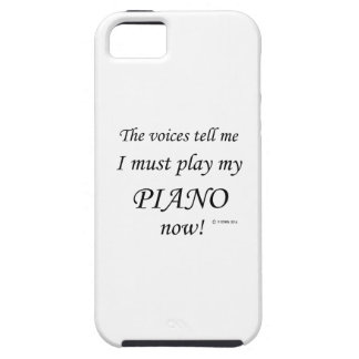 Piano Voices Say Must Play iPhone 5 Cover