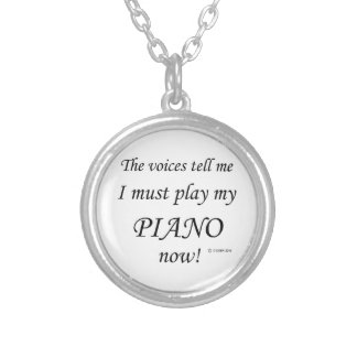 Piano Voices Say Must Play Pendants
