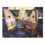 Piano y guitarra de Autoharps Tarjetas Postales
