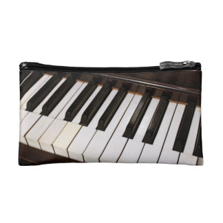 Piano Zippered Pouch Cosmetics Bags