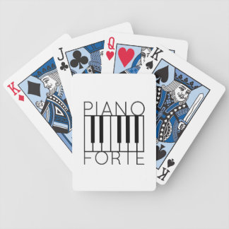 Pianoforte Bicycle Playing Cards