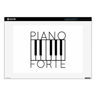 Pianoforte Decal For Laptop