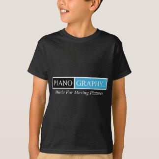 PianoGraphy.com Kids Dark T-Shirt