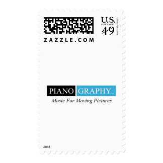 PianoGraphy.com Products Postage Stamp