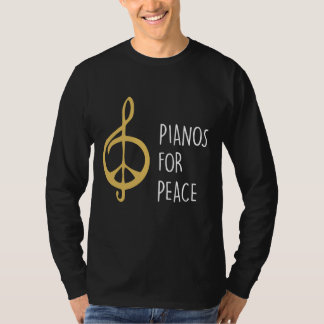 Pianos For Peace Men'scLong Sleeve T-Shirt