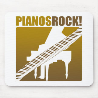 Pianos Rock! Mouse Pad
