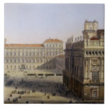 Piazza Castello, Turin, engraved by F. Citterio (c Ceramic Tile