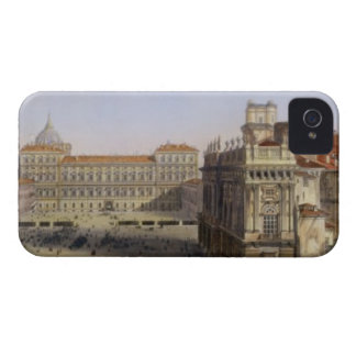 Piazza Castello, Turin, engraved by F. Citterio (c iPhone 4 Case