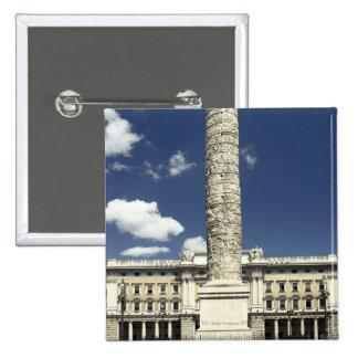 Piazza Colonna, Italy Button