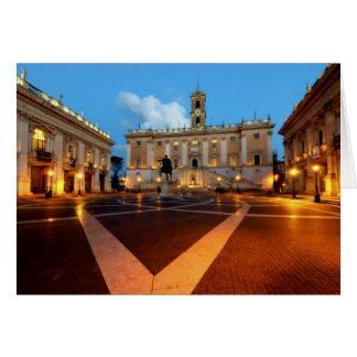 Piazza del Campidoglio Card