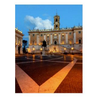 Piazza del Campidoglio Postcard