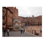 Piazza del Campo, Siena Postal
