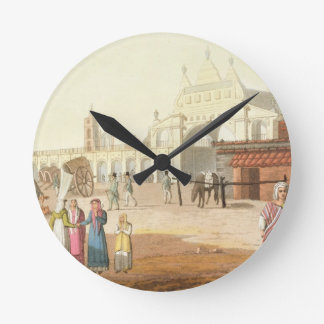 Piazza del Mercato, Buenos Aires, Argentina, from Round Clock