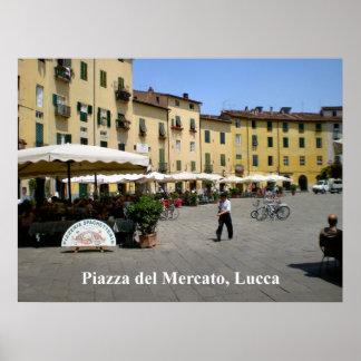 Piazza del Mercato - Piazza Anfiteatro Print