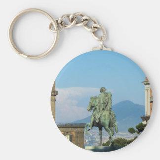 Piazza del Plebiscito, Naples Keychain