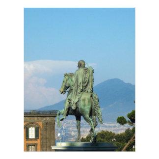 Piazza del Plebiscito, Naples Letterhead