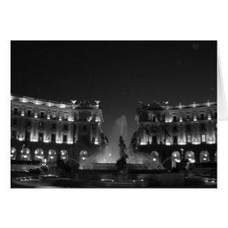 Piazza della Repubblica Card