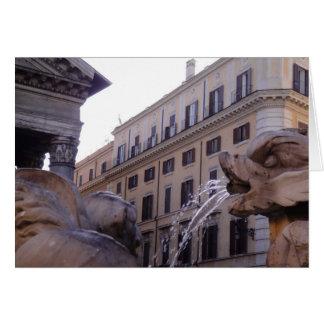Piazza della Rotonda Greeting Card