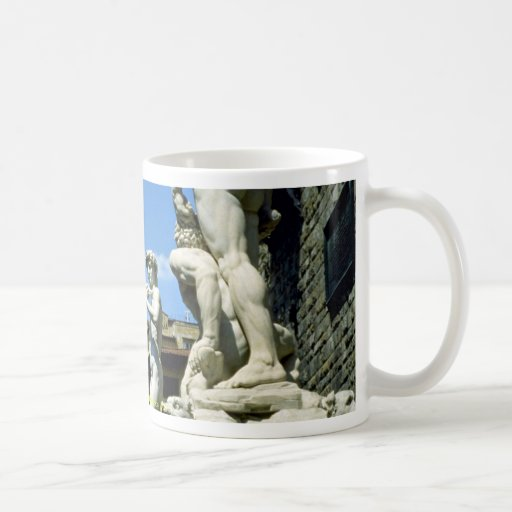 Piazza della Signoria, Florence, Italy Classic White Coffee Mug