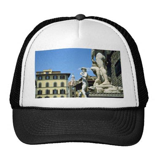 Piazza della Signoria, Florence, Italy Trucker Hat