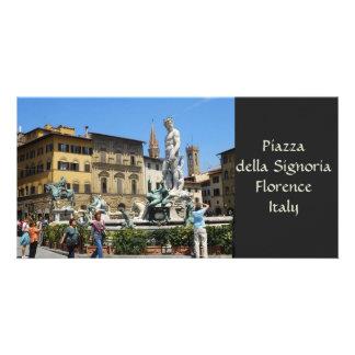 Piazza della Signoria Photo Card