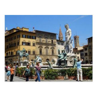 Piazza della Signoria Postcard