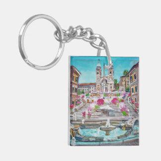Piazza di Spagna -Keychain Keychain