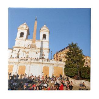 Piazza di Spagna, Rome, Italy Ceramic Tile