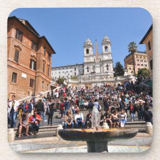 Piazza di Spagna, Rome, Italy Drink Coaster