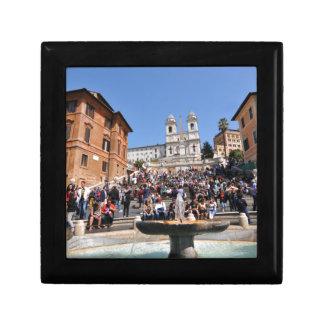 Piazza di Spagna, Rome, Italy Jewelry Box