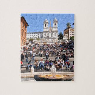 Piazza di Spagna, Rome, Italy Jigsaw Puzzle