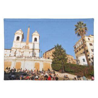 Piazza di Spagna, Rome, Italy Placemat