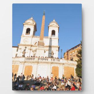 Piazza di Spagna, Rome, Italy Plaque