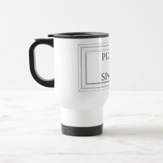 Piazza di Spagna, Rome Street Sign 15 Oz Stainless Steel Travel Mug